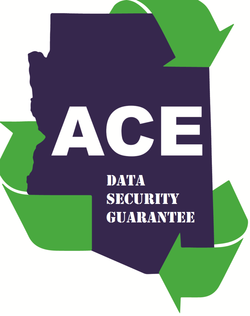 ACE Recycling Data Security Guarantee for Businesses
