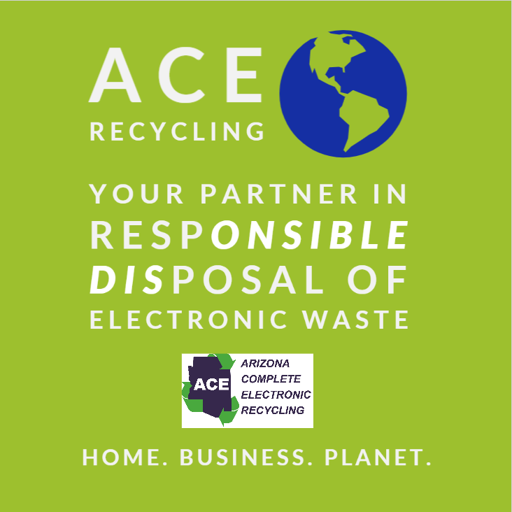 ACE provides Recycling and IT services to reduce electronic waste.